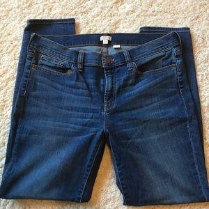 J Crew stretch skinny jeans